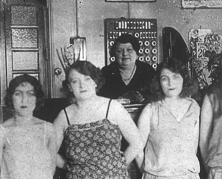 Maison close en 1930 (DR)