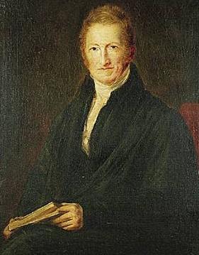Thomas Malthus (près de Guildford, 13 février 1766 - Bath, 29 décembre 1834)