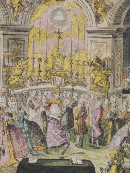 bndiction nuptiale de marie antoinette et louis versailles le 16 mai 1770 - Consommer Mariage Islam