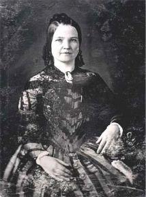Mary Ann Todd, épouse Lincoln (13 décembre 1818, Lexington, Kentucky ;  16 juillet 1882, Springfield, Illinois)