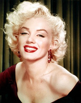 Marylin Monroe (1er juin 1926, Los Angeles  - 5 août 1962, Los Angeles), DR