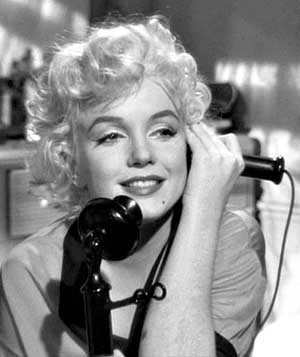 Marylin Monroe dans Some like it hot (Certains l'aiment chaud), Billy Wilder, 1959