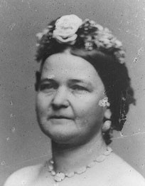 Mary Ann Todd Lincoln (Lexington, KY, 13 décembre 1818 - Springfield, IL, 16 juillet 1882)