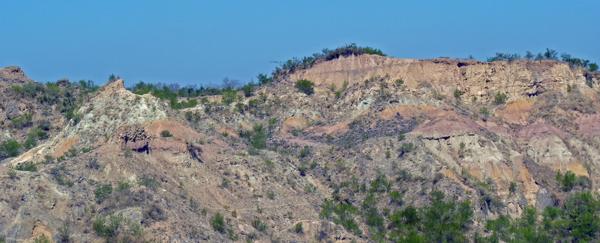 Le site de fouilles de Masol, au Pendjab (photo : Anne Dambricourt Malassé)