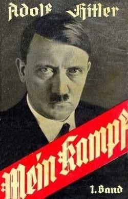Couverture de Mein Kampf (1925)