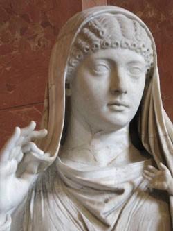 Messaline, épouse de l'empereur Claude et mère de (15-48)