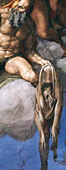 Saint Barthélemy (1508-1512, Michel-Ange, chapelle Sixtine)