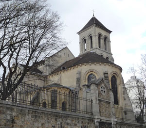 Église Saint-Pierre (Montmartre, Paris), photo : François-Xavier Lenoir