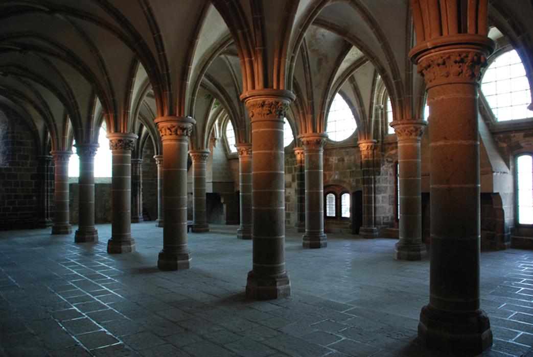 Scriptorium présumé, Mont-Saint-Michel.