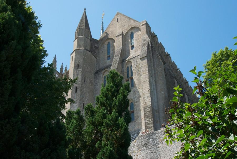Pignon oriental de la Merveille, Mont-Saint-Michel.