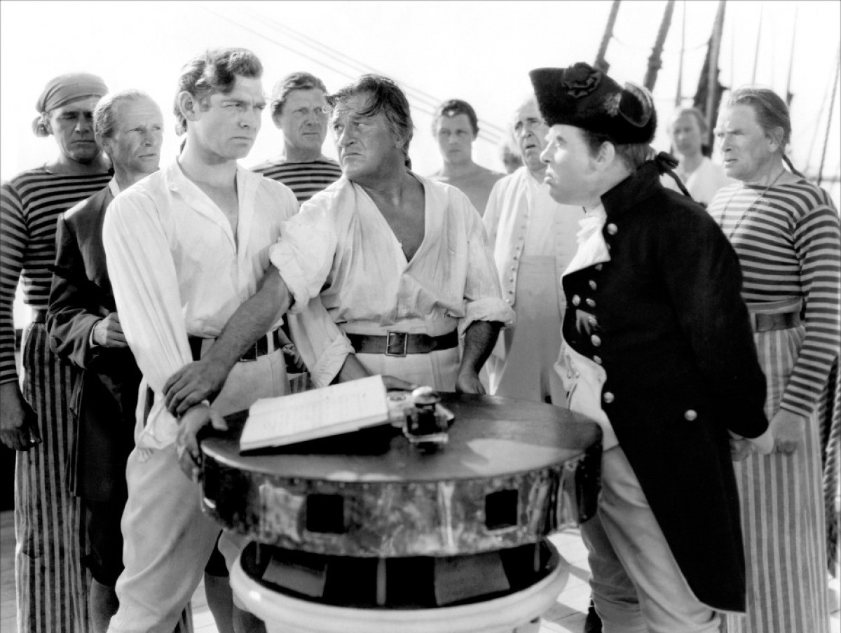 Mutiny on the Bounty (Clark Gable et Charles Laughton, 1935)
