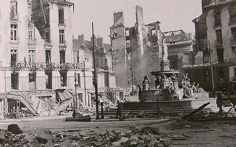 Bombardement de Nantes, les 16 et 23 septembre 1943