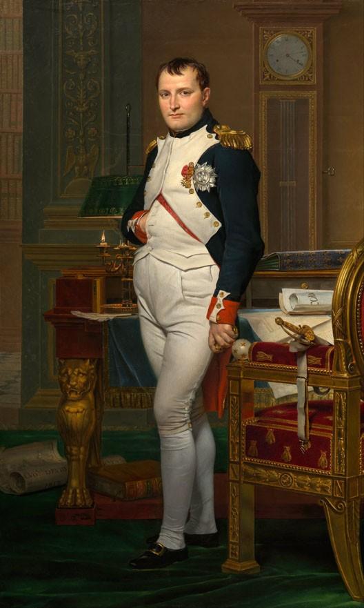 Paris, 1812 - Portrait de Napoléon 1er à 43 ans - Herodote.net