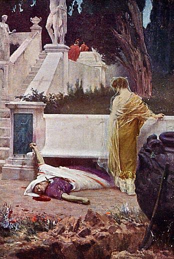 Rome Chrétienne et ses monuments - EUGENE DE LA GOURNERIE - 1867 Neron-mort