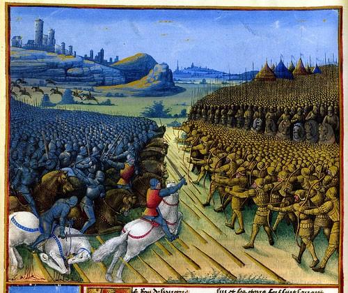 La bataille de Nicopolis (manuscrit de Louis de Gruuthuse, BNF)