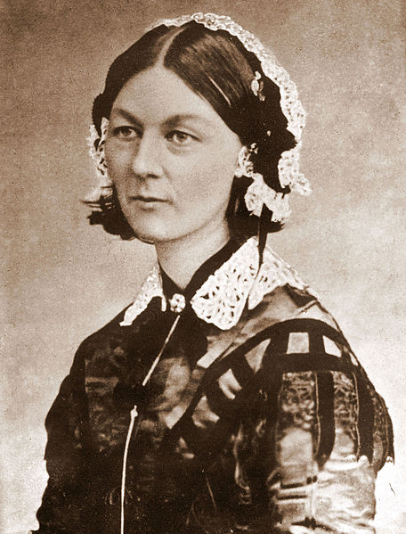 Florence Nightingale (12 mai 1820 – 13 août 1910)