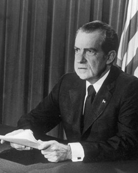 Biographie Richard Milhous Nixon