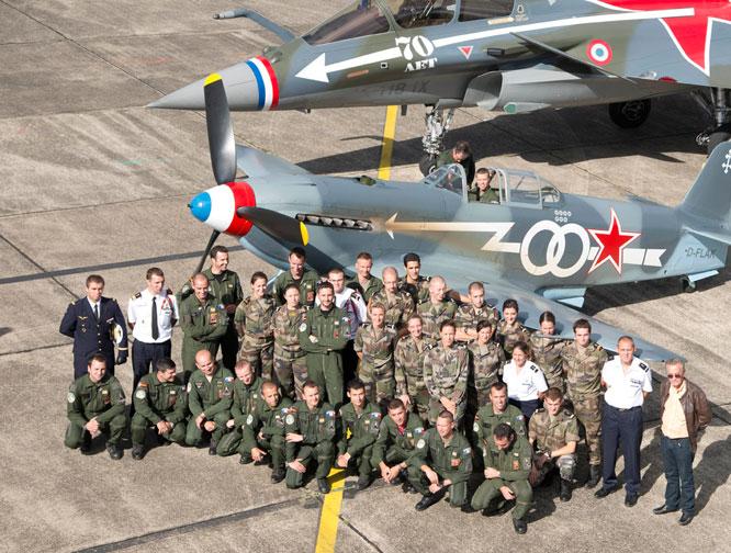 Mirage F-1 CT (Heller) Dissolution Normandie Nièmen 2009  - Page 2 Normandie-niemen-2012