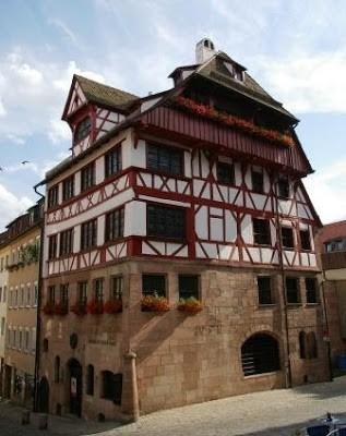 La maison de Dürer à Nuremberg