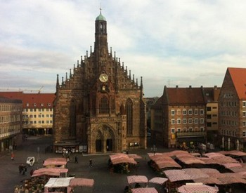 La place du marché à Nuremberg (DR)