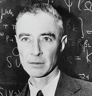 Julius Robert Oppenheimer (22 avril 1904, New York - 18 février 1967, Princeton)