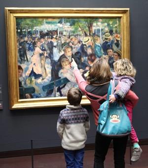 15 janvier 2017 : Pourquoi le public ne fréquente plus les grands musées parisiens