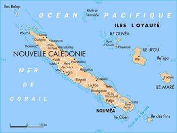 La Nouvelle Calédonie aujourd'hui (DR)