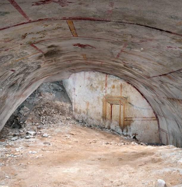 12 mai 2019 : À Rome, une salle secrète de 2.000 ans révélée dans le palais de Néron