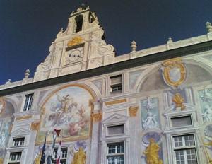 Palais San Giorgio, résidence des doges de Gênes (DR)