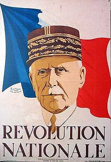 Philippe Pétain (affiche de Philippe Noyer, 1940)