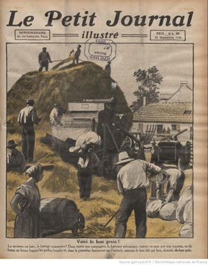 Le Petit Journal illustré, n° 1761, septembre 1924, Bnf, Paris