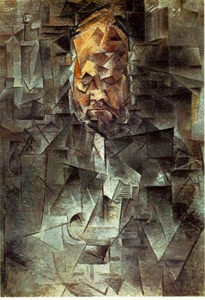 Pablo Picasso, Portrait d'Antoine Vollard, 1910, musée Pouchkine, Moscou (DR)