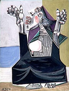 Pablo Picasso, La Suppliante, 1937, musée national Picasso, Paris (DR)