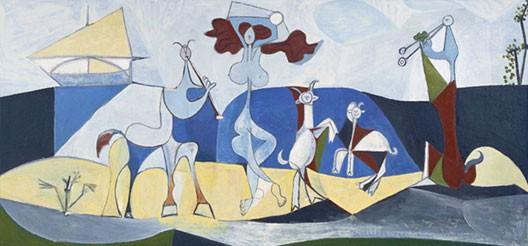 Pablo Picasso, La Joie de vivre, 1946, musée Picasso, Antibes (DR)