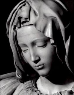 La Pieta de Michel-Ange (détail)