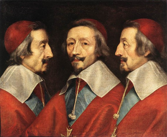 Philippe de Champaigne, Triple portrait de Richelieu, 1640, Londres, National Gallery