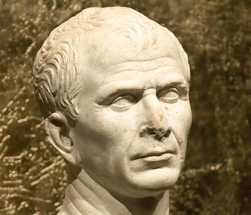 Buste dit de Jules César, 46 av. J.-C., Musée départemental, Arles.