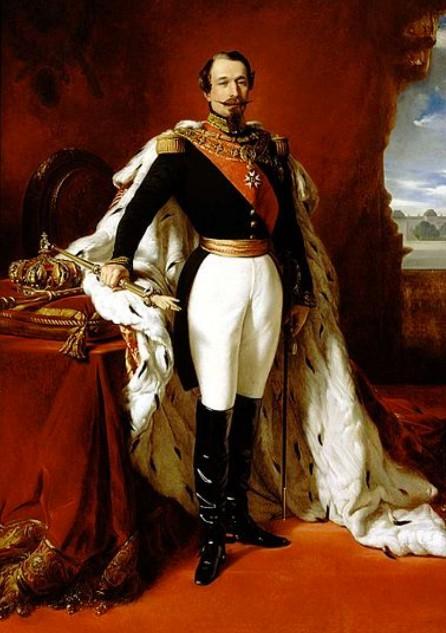 Portrait de l'empereur Napoléon III, Franz Xavier Winterhalter, 1855, musée Napoléon, Rome.