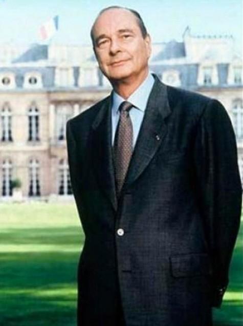 Portrait officiel de M. Jacques Chirac, président de la République française, Bettina Rheims, 1995.