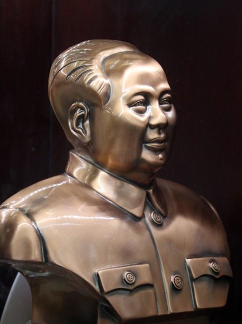 Buste de Mao Zedong.