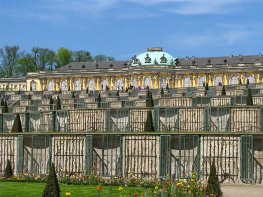 Potsdam, Frédéric II à Sanssouci (Potsdam)