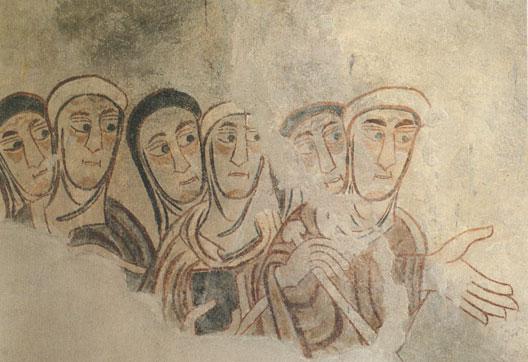 Romains et Valaques, fresques de Saint-Procule (Naturns, sud du Tyrol, IXe siècle)