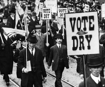 Les Chroniques du Jour : ça s'est passé un 16 Janvier Prohibition