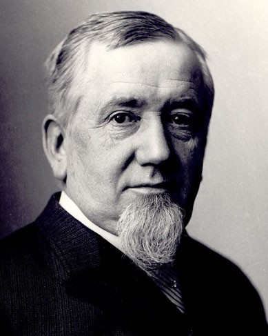 George Pullman (3 mars 1831, Brocton, NY ; 19 octobre 1897, Chicago)