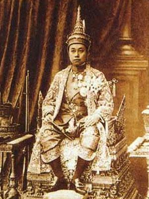 Le roi de Siam Rama VI
