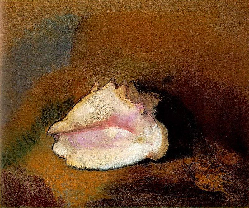 Le coquillage (Odilon Redon, 1912)