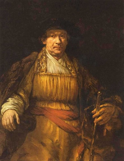 Rembrandt van Rijn, Autoportrait, 1658, The Frick Collection, New York.