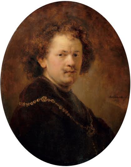 Rembrandt van Rijn, Autoportrait à la tête nue, 1633, musée du Louvre, Paris.