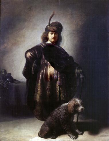 Rembrandt van Rijn, Autoportrait en costume oriental, 1631-1633, Petit Palais, Paris.