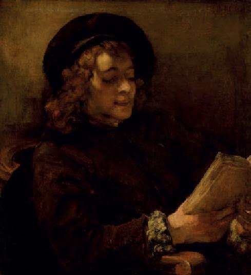 Rembrandt van Rijn, Titus lisant, vers 1658, Kunsthistorishes Museum, Gemämdegalerie, Vienne.